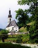 Church in Ramsau Stock Image