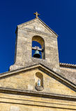 Church in Rauzan village in France Royalty Free Stock Photos
