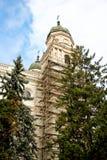 Church reconstruction Stock Photo