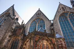 Church in the Red Light district, Amsterdam Stock Images