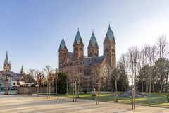 Church of Redeemer in Bad Homburg, Germany. Church of the Redeemer in Bad Homburg, Germany royalty free stock photo