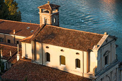 Church of the Redeemer - Verona Italy Royalty Free Stock Photography