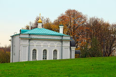 Church refectory for the Church of St. George in the park Kolomenskoye. Moscow, Russia. Royalty Free Stock Images
