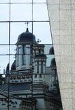 Church reflection Stock Photos