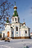Church of the Reigning icon of the Mother of God in Yekaterinburg, Russia Stock Image