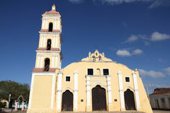 Church in Remedios, Cuba Stock Images