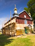 Church restoration Royalty Free Stock Image