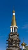 Church restoration Stock Photo