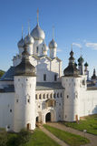 Church of the Resurrection august evening. Kremlin of Rostov the Great Royalty Free Stock Photos