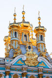 The Church of the Resurrection in the Catherine Palace of Tsarsk Stock Photo