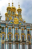 Church of the Resurrection in Catherine Palace in Tsarskoye Selo (Pushkin) Royalty Free Stock Image