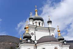 The Church of the Resurrection of Christ. Foros, Crimea, Ukraine royalty free stock photo