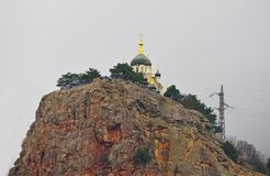 The Church of the Resurrection of Christ. Church On The Rock stock images