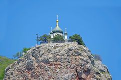 The Church of the Resurrection of Christ. Church On The Rock royalty free stock photo