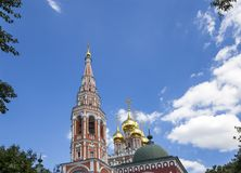 Church of the Resurrection of the christ in kadashi, Moscow, Russia Stock Photo
