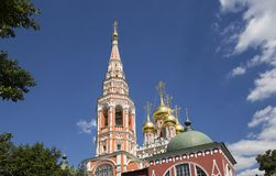 Church of the Resurrection of the christ in kadashi, Moscow, Russia Stock Photography