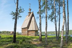 Church of the Resurrection of Christ in Ples Stock Images