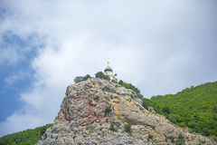The Church of the Resurrection of Christ. (Church On The Rock), Foros, Crimea stock photos