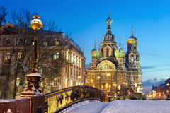 Church of the Resurrection of Christ, St. Petersburg, Russia Stock Image