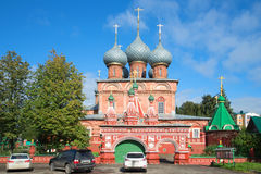 Church of the Resurrection in Debrya, sunny september day. Kostroma Stock Images