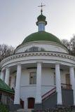 Church of the Resurrection in Florivsky monastery. Kyiv, Ukraine. Stock Photography