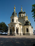 Church of the resurrection. Foros. Crimea, Ukraine royalty free stock photography
