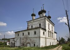 Church of the Resurrection in Gorokhovets. Vladimir Oblast. Russia Royalty Free Stock Photos