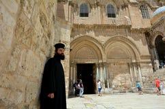 Church of the Resurrection in Jerusalem, Israel stock image