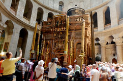 Church of the Resurrection in Jerusalem, Israel Royalty Free Stock Images