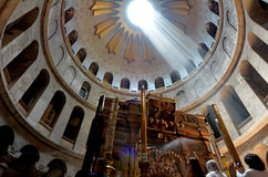 Church of the Resurrection in Jerusalem, Israel Stock Photo