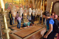 Church of the Resurrection in Jerusalem, Israel Stock Photography