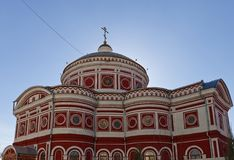 Church of the Resurrection (1875). Kursk, Russia Stock Image