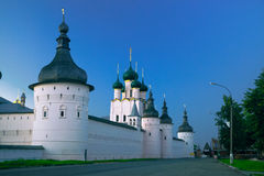 Church of Resurrection in Rostov Kremlin Royalty Free Stock Images