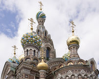 Church of the Resurrection (Savior on Spilled Blood) .1883-1907. Royalty Free Stock Photography