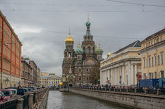 Church of the Resurrection (on Spilled Blood) Royalty Free Stock Photo