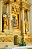 Church of the Resurrection and St. Thomas the Apostle in Zamosc Stock Images