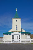 Church in Reykjahlid, Iceland Royalty Free Stock Photography