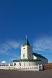 Church in Reykjahlid, Iceland Royalty Free Stock Images