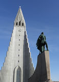 Church in reykjavik Royalty Free Stock Images