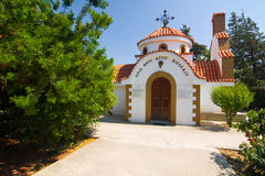 Church, Rhodes island Stock Image