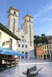 Church in Ribadesella, Asturias, Spain. Stock Images