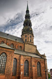 Church in Riga Royalty Free Stock Images