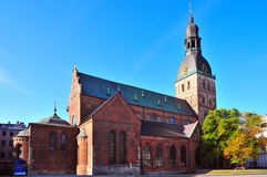 Church in Riga Royalty Free Stock Photography