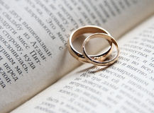 Church rings Royalty Free Stock Images
