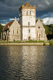 Church on River Thames, England Stock Photos