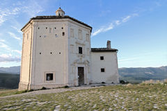 Church of Rocca Calascio Royalty Free Stock Photography