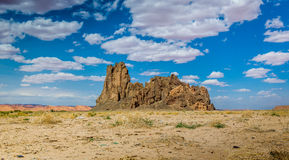 Church Rock in AZ Stock Photography