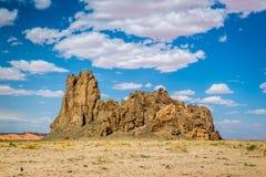 Church Rock in AZ Stock Image