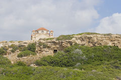 Church in the rock, Cyprus Royalty Free Stock Photo