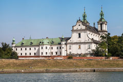 Church on the Rock in Krakow royalty free stock image